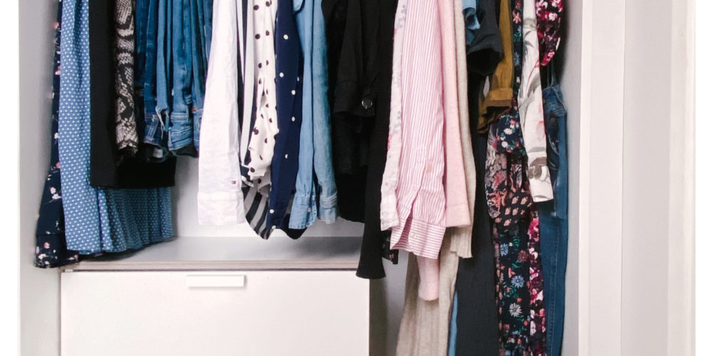Why I Decided to  Simplify My Wardrobe